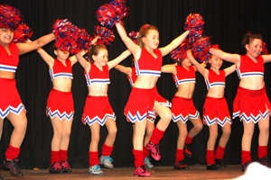 cheerleading dance show photo